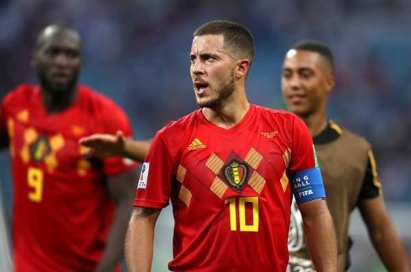 رقم قياسي لـ هازارد مع منتخب بلجيكا