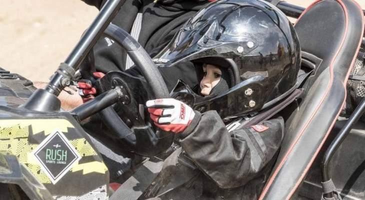 اصغر سائق مصري يلفت الانظار في بطولة الجمهورية لسباقات الرالي المصرية