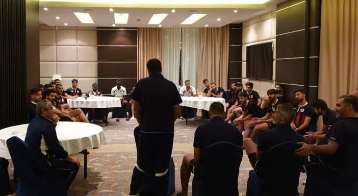 نادي النجمة ينهي معسكره في قطر يوم الأربعاء