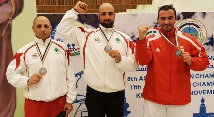 رماية : برونزية للفريق اللبناني في البطولة الآسيوية بالكويت