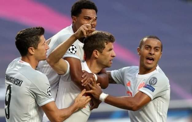 بايرن ميونيخ يهين برشلونة وتاريخه بثمانية اهداف ويتأهل لنصف النهائي