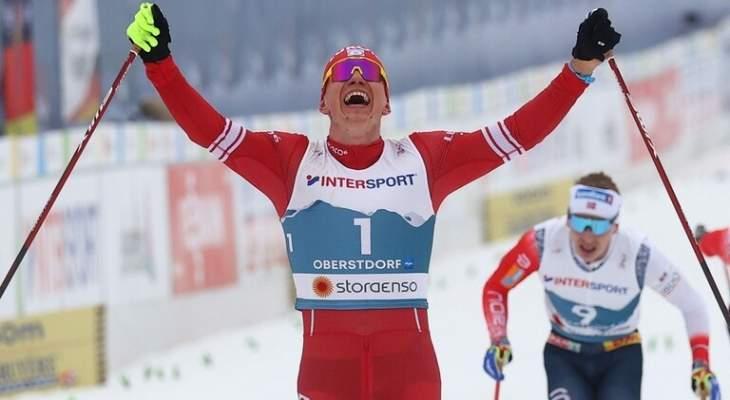 بطولة العالم للتزلج: ذهبية السكياتلون للروسي بولشونوف