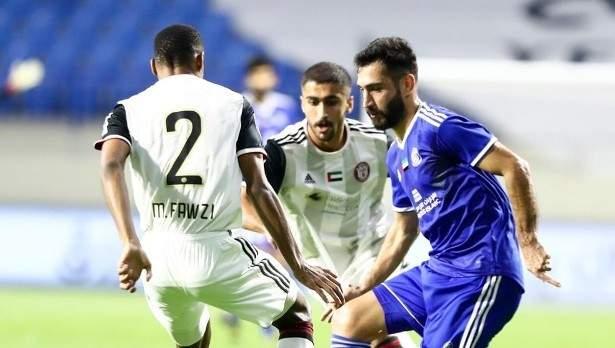 كأس الخليج العربي: النصر والجزيرة يكتفيان بالتعادل السلبي