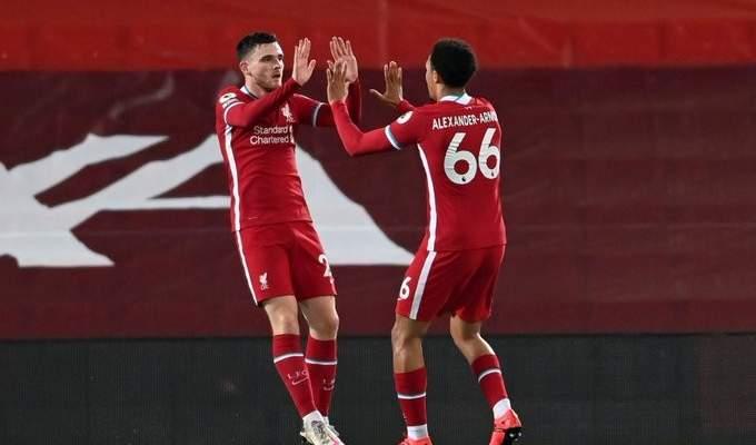 البريمييرليغ: ليفربول يحسم قمة الجولة امام ارسنال ليواصل انتصاراته المتتالية