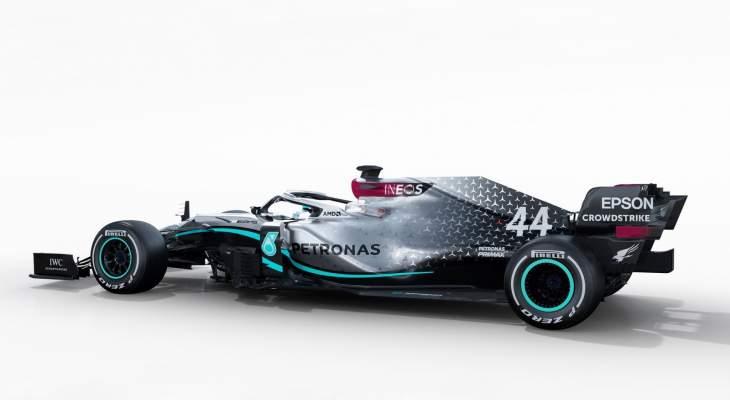 فريق مرسيدس يكشف عن سيارته الجديدة