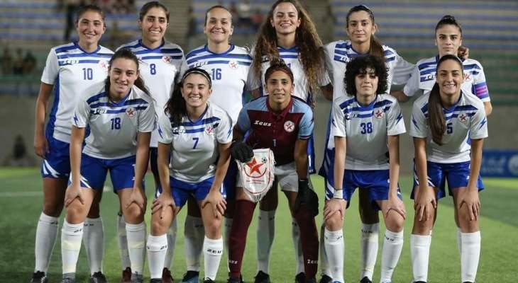 نجوم الرياضة اللبناني SAS وصيف بطل غرب آسيا لاندية السيدات