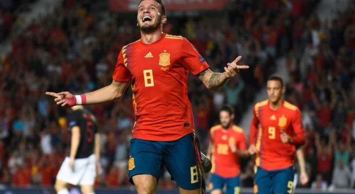 ساؤول يؤكد ان منتخب اسبانيا  سيكون قويا في المستقبل