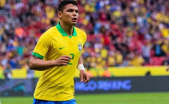 تياغو سيلفا جاهز للقاء البرازيل