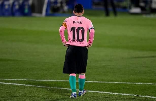 غياب ميسي عن تمارين برشلونة لا يدعو للقلق