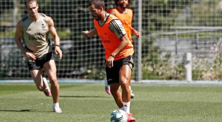 تدريبات ريال مدريد تشهد عودة ناتشو