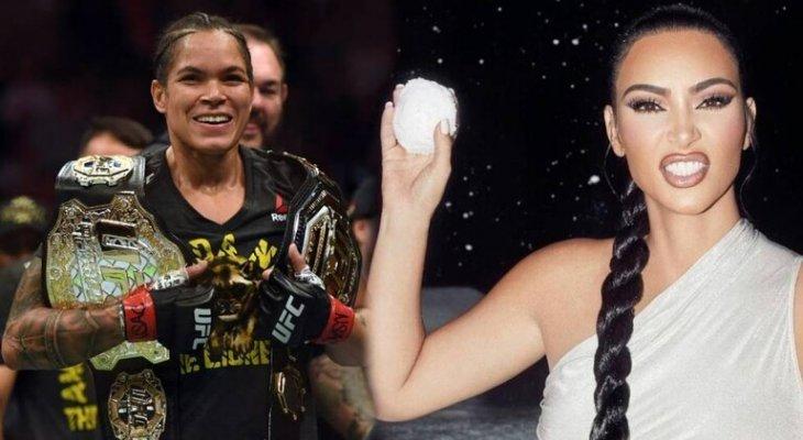 بطلة الـ UFC نونيز تدعو كيم كارداشيان إلى قتال
