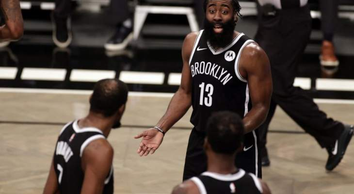 NBA: بروكلين يسقط للمرة الاولى في عهد هاردن
