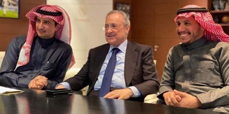 رئيس النصر السعودي في ضيافة رئيس ريال مدريد