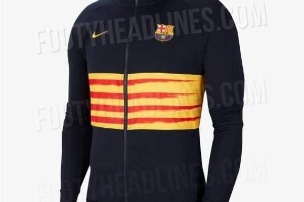 برشلونة سيرتدي قميص يجسد علم كتالونيا في مواجهة اتلتيكو مدريد