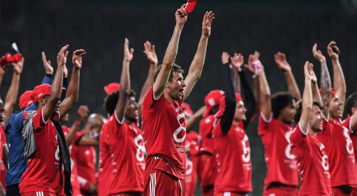 احصائيات عن بايرن ميونيخ بعد احرازه لقب الدوري الألماني الثلاثين