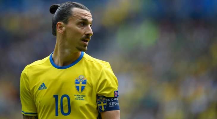 زلاتان يقترب من العودة إلى منتخب السويد