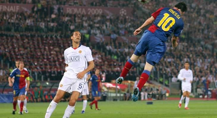 ميسي يعتبر هدفه في نهائي روما هو من الافضل في مسيرته