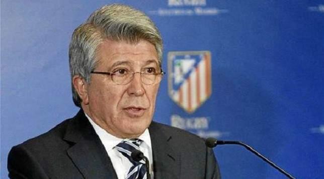 رئيس أتلتيكو: نستحق لقب دوري الأبطال إذا الغيت المسابقة بعد إقصاء ليفربول