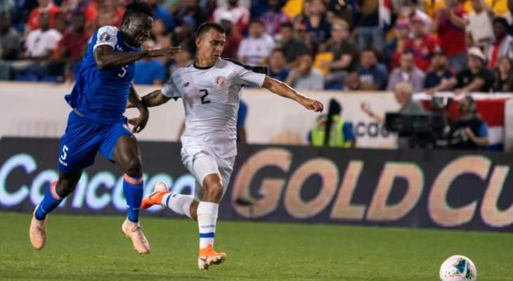 الكأس الذهبية 2019: هايتي تحسم صدارة المجموعة الثانية بالفوز على كوستاريكا