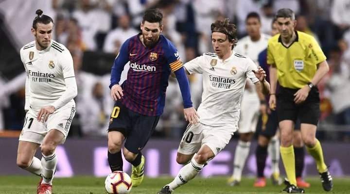 ريال مدريد يوافق على إقتراح برشلونة بالنسبة للموعد الجديد للكلاسيكو