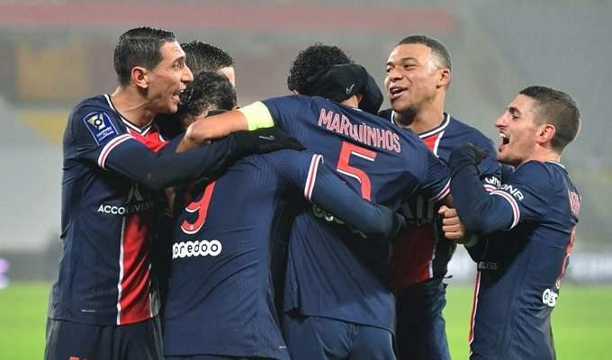 باريس سان جيرمان يحرز كأس السوبر الفرنسي بفوزه على غريمه أولمبيك مرسيليا