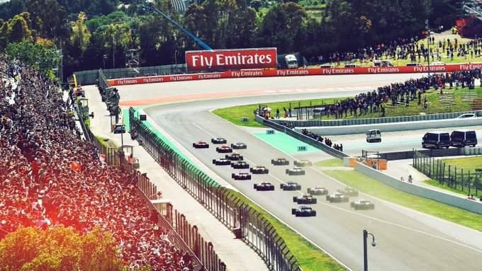سباق اسبانيا يشهد تواجد الجماهير