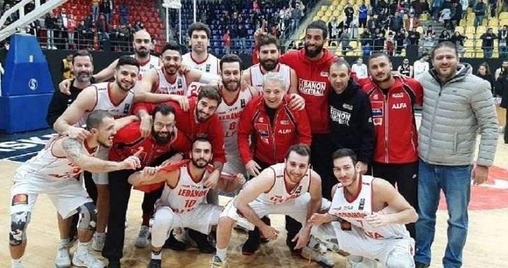 موعد مباريات منتخب لبنان للسلة  في تصفيات كأس آسيا