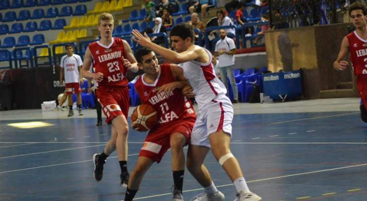 بطولة العرب تحت 16 عاما:لبنان يواجه مصر