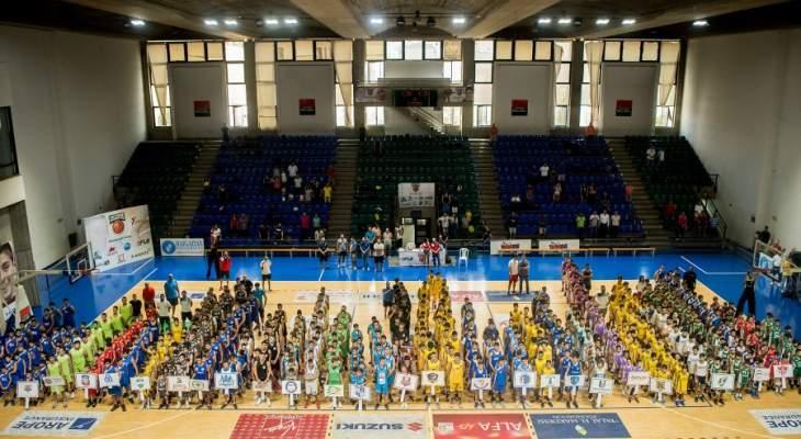أكثر من 1100 لاعب في افتتاح دورة أنطوان الغريّب لكرة السلة