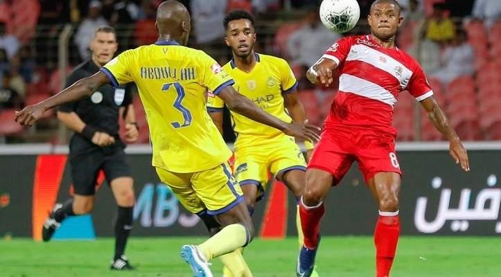 ترتيب الدوري السعودي بعد خسارة النصر امام الوحدة
