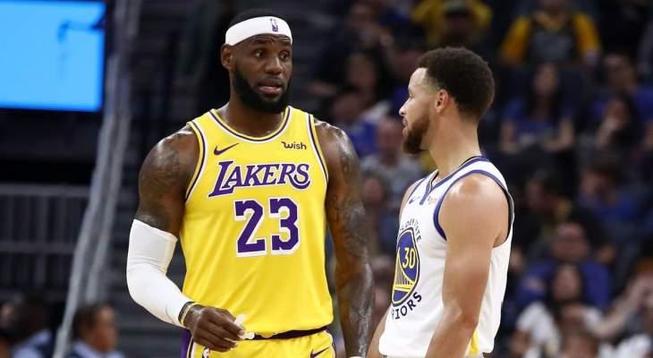 NBA: الليكرز يتفوق على غولدن ستايت في مباريات قبل انطلاق الموسم