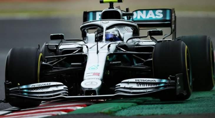 صورة تُظهر قوة الضغط السفلي لسيارة الفورمولا 1