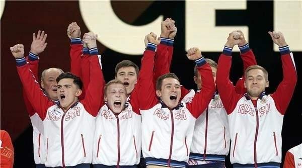 للمرة الاولى روسيا تتوج بلقب بطولة العالم للجمباز