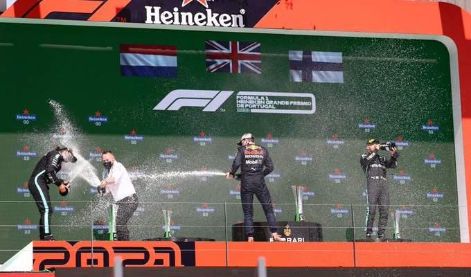 ترتيب الصانعين بعد انتهاء سباق جائزة البرتغال الكبرى