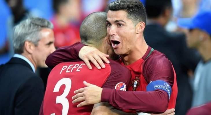 بيبي يتمنّى عودة رونالدو إلى الدوري البرتغالي