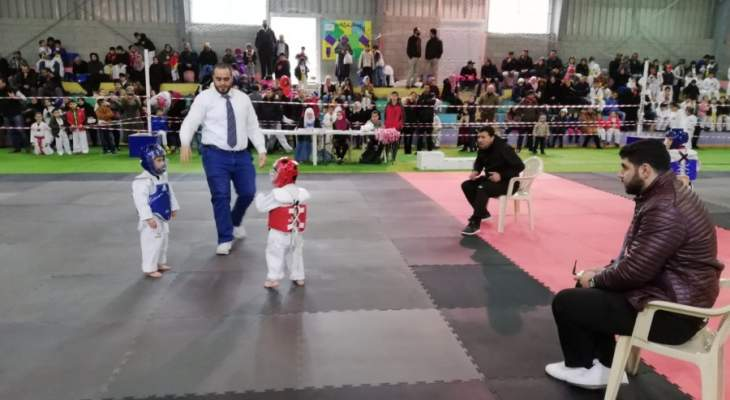أندية اللواء نظمت  بطولة الأندية الثانية عشرة في التايكواندو