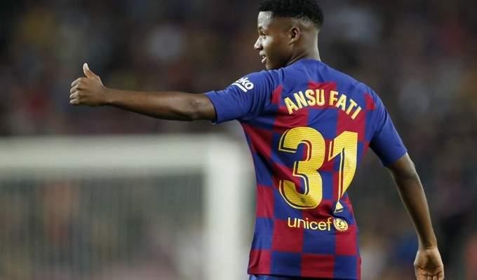اولى تصريحات انسو فاتي بعد تجديد عقده مع برشلونة