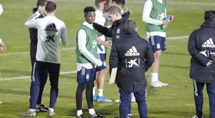 مورينو يشرك لاعبين من المنتخب الإسباني تحت ال 21 في تدريبات المنتخب الأول