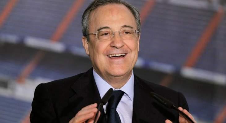 رئيس ريال مدريد يعد بعرس آخر لكرة القدم في مباراة تاريخية