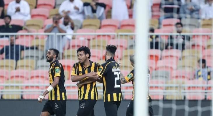 كأس خادم الحرمين: الاتحاد يكتسح الرياض وفوز مثير للأخدود على النهضة