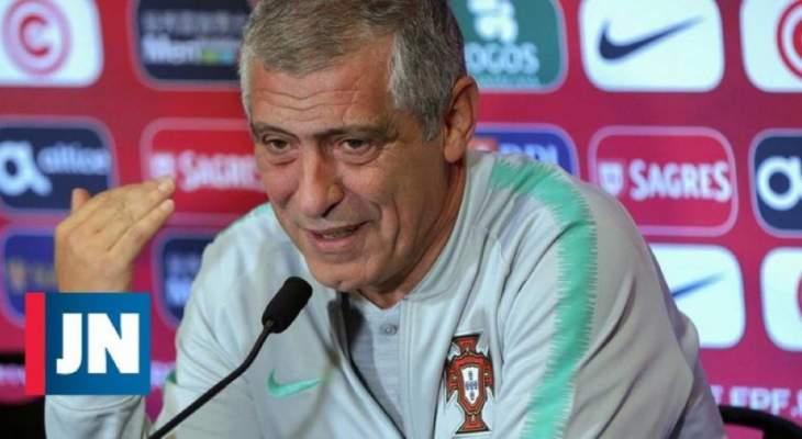 سانتوس يرد وبحزم عن مصير رونالدو : هو لاعب في منتخب البرتغال