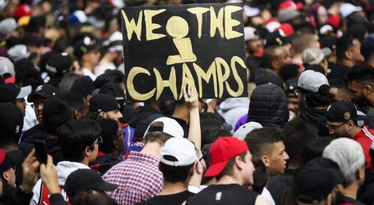 4 جرحى باطلاق نار و3 اعتقالات في احتفالات تورنتو بالفوز بلقب NBA