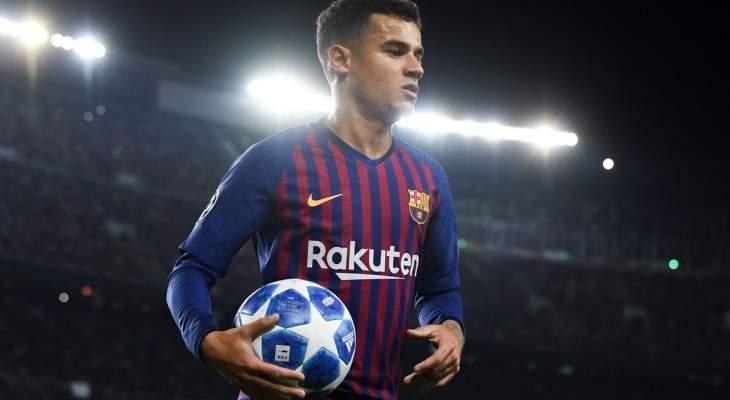كوتينيو يتخذ اول خطوة للرحيل عن برشلونة