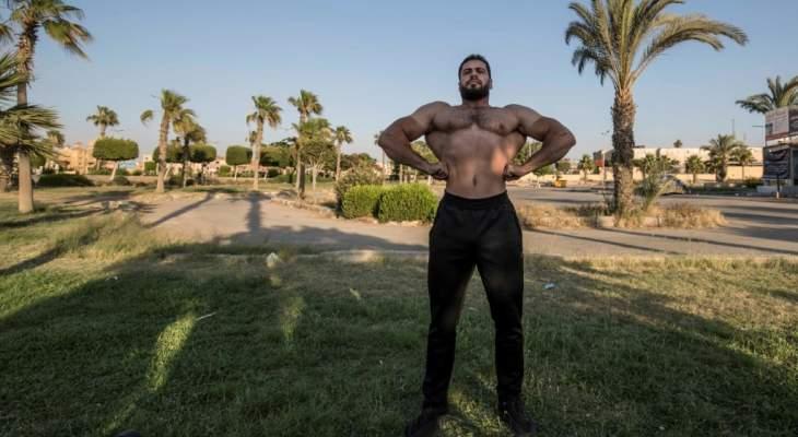 رياضيو كمال الأجسام في مصر يعانون في زمن كورونا: لا نحيا بالعضلات وحدها