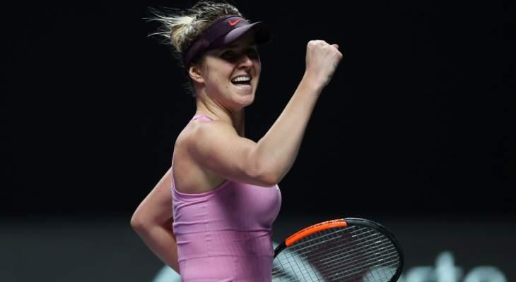 سفيتولينا تعلن انسحابها من بطولة اميركا المفتوحة