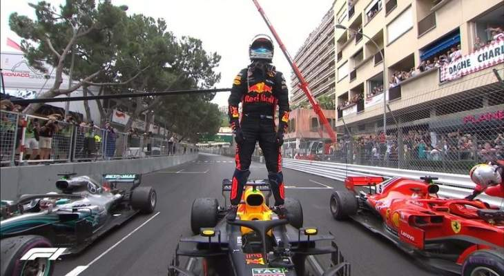 الفورمولا 1 تعيد عرض سباق موناكو