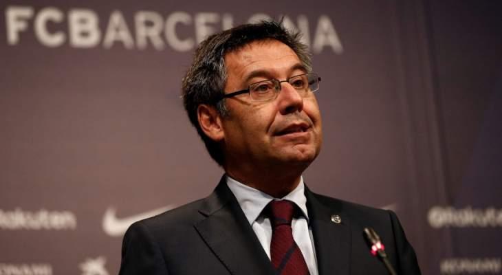بارتوميو متأكد من بقاء ميسي في برشلونة