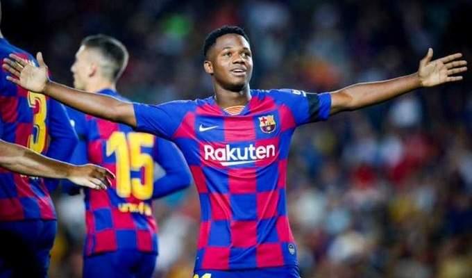 هل يدخل أنسو فاتي تاريخ دوري أبطال أوروبا مع برشلونة؟