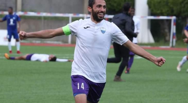 خاص- أحمد مغربي: تنفّسنا الصعداء بالفوز على السلام زغرتا وهذه نصيحتي للاعبينا الشباب