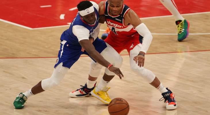 NBA: واشنطن ويزردز يكبّد كليبرز خسارته الثالثة على التوالي